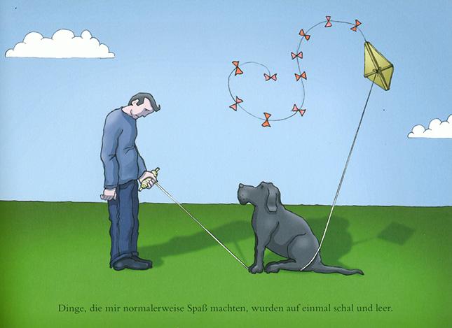 Matthew Johnstone, »Mein schwarzer Hund, Wie ich meine Depression an die Leine legte.«